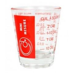 Mini verre doseur 5 à 35ml