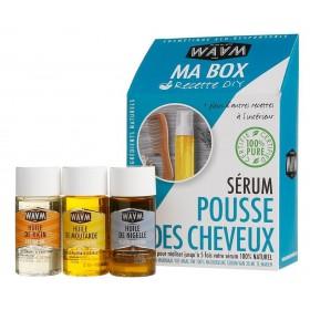 WAAM Kit complet sérum POUSSE DES CHEVEUX