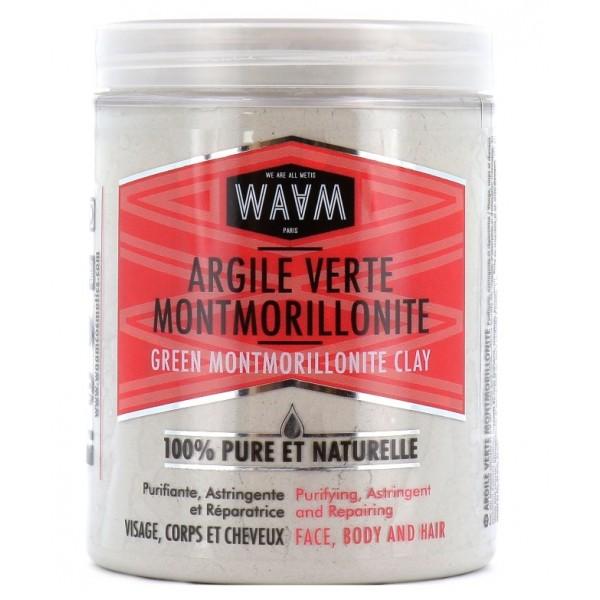 WAAM Poudre D'ARGILE VERTE MONTMORILLONITE 250g