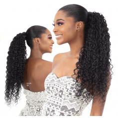 MILKYWAY MALI CURL hairpiece (PonyPro)