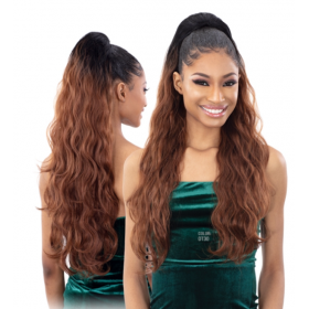 "MILKYWAY postiche Body Wave 28"" (Organique Pony Tail)"