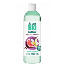 JE SUIS BIO Moisturizing Shower Cream Fig & Vanilla 250ml