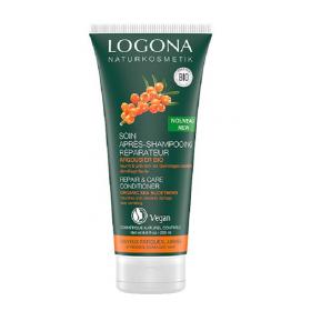 LOGONA Après-shampoing réparateur à l'argousier BIO 200ml