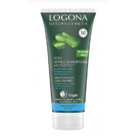 LOGONA Après-shampoing hydratant à l'aloé vera BIO 200ml