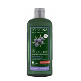 LOGONA Organic anti-dandruff shampoo with juniper berries 250ml