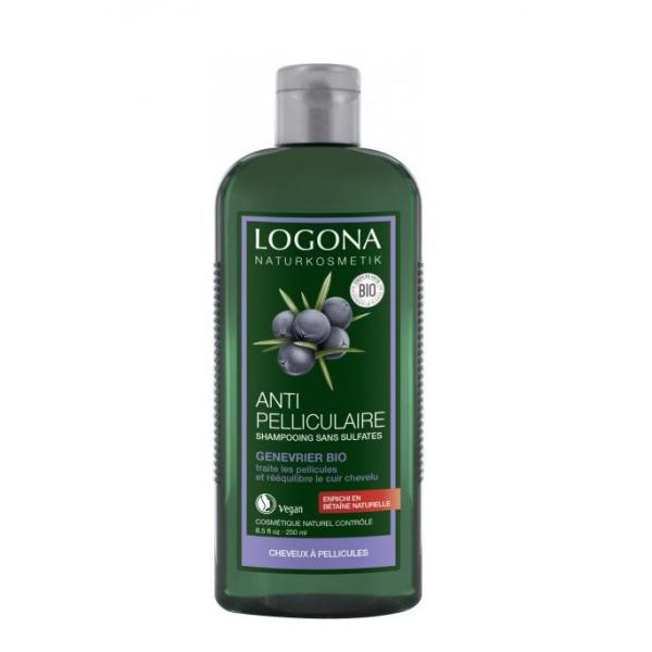 LOGONA Shampoing anti pelliculaire BIO au génévrier 250ml