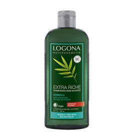 LOGONA Extra Rich Organic Bamboo Shampoo 250ml