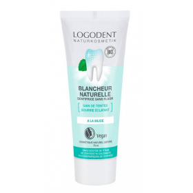 LOGONA Natural white toothpaste with organic silica 75ml