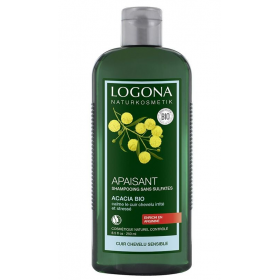 LOGONA Soothing Shampoo with ORGANIC ACACIA 250ml