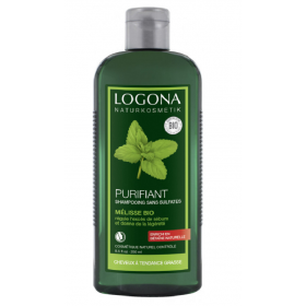 LOGONA Purifying shampoo with ORGANIC MIX 250ml