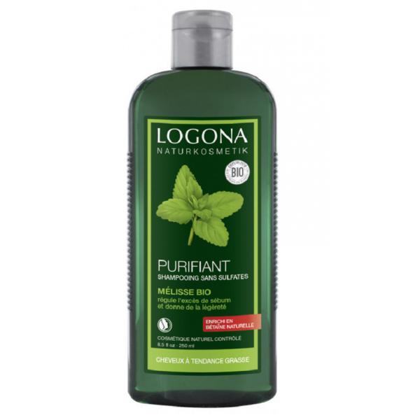 LOGONA Shampoing purifiant à la MÉLISSE BIO 250ml