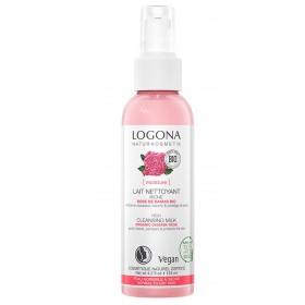 LOGONA Cleansing Milk with Damask Rose ORGANIC 125ml