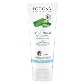 LOGONA Exfoliating Gel Mint & Organic Salicylic Acid 100ml