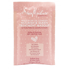 SHEA MOISTURE Masque nourrissant à l'huile de fleur de rose (nourish & silken) 59ml