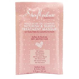 SHEA MOISTURE Nourishing Mask with rose flower oil (nourish & silken) 59ml