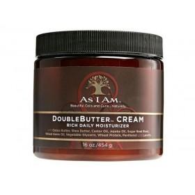 AS I AM Crème capillaire hydratante DOUBLEBUTTER CREAM 454g