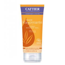 CATTIER PARIS Radiant shower gel ABRICOT & MIEL BIO 200ML