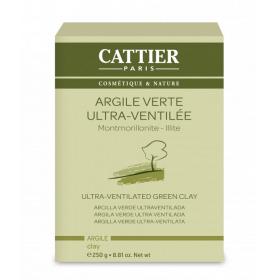 CATTIER PARIS Argile verte ultra-ventilée BIO 250g