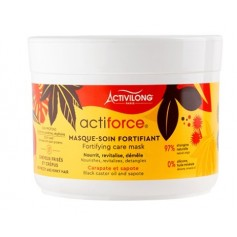 ACTIVILONG Masque capillaire fortifiant BLACK CASTOR OIL 200ml