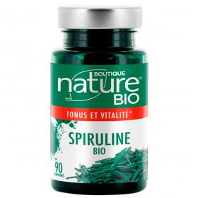 BOUTIQUE NATURE Complément alimentaire SPIRULINE BIO 90 comprimés (tonus & vitalité)