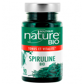 BOUTIQUE NATURE Food supplement SPIRULINE ORGANIC 90 tablets (tonus & vitality)