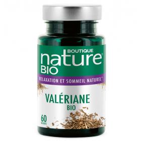 BOUTIQUE NATURE Complément alimentaire VALÉRIANE BIO 90 comprimés (Relaxation & Sommeil naturel)
