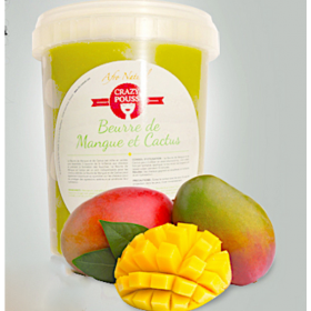 CRAZY POUSS Mango butter and cactus for hair 500g
