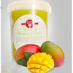 CRAZY POUSS Beurre de mangue et cactus pour cheveux 500g