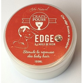 CRAZY POUSS Fixing gel EDRE CONTROL WHITE special BABY HAIR 100ml