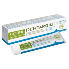 CATTIER PARIS Dentifrice DENTARGILE à la propolis BIO 75ml