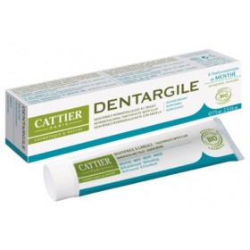 CATTIER PARIS Dentifrice DENTARGILE à la menthe BIO 75ml