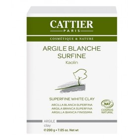 CATTIER PARIS Argile blanche surfine BIO 200g