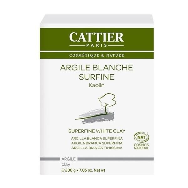 CATTIER PARIS Argile blanche surfine BIO 200g