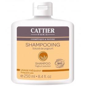 CATTIER PARIS Shampoo with organic YOGOURT solution 250ml