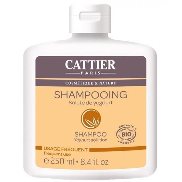 CATTIER PARIS Shampoing au soluté de YOGOURT BIO 250ml