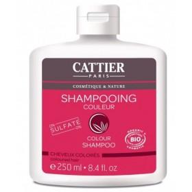 CATTIER PARIS Shampoing pour cheveux colorés BIO 250ml