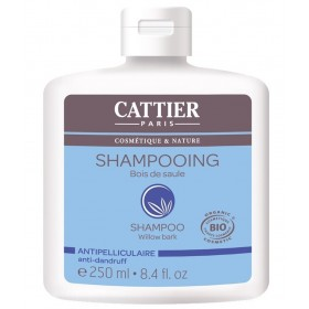 CATTIER PARIS Shampoing antipelliculaire au BOIS DE SAULE BIO 250ml