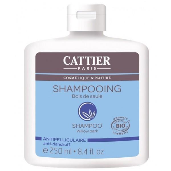 CATTIER PARIS Shampoing antipelliculaire au BOIS DE SAULE BIO 250ml
