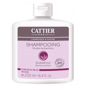 CATTIER PARIS Shampoing cheveux secs MOELLE DE BAMBOU BIO 250ml