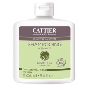 CATTIER PARIS Shampoing à l'AGILE VERTE BIO 250ml