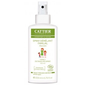 CATTIER PARIS Spray démêlant familial à l'ALOE VERA BIO 200ml