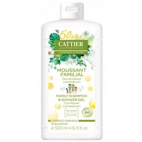 CATTIER PARIS Moussant familial BIO 500ml