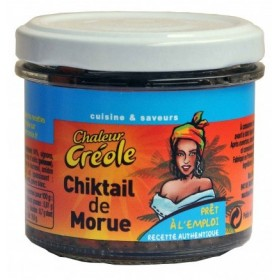 HEAT CREOLE Codfish Chiqueille 100g