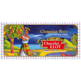 CHOCOLATE ELOT Dark chocolate bar ELOT 100g