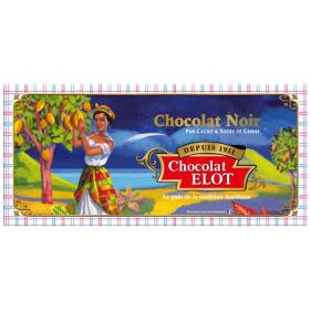 CHOCOLAT ELOT Tablette de chocolat noir ELOT 100g