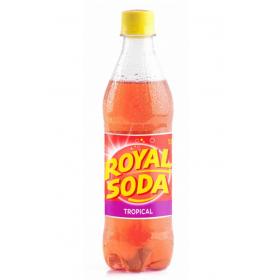 ROYAL SODA Boisson gazeuse saveur TROPICAL 50cl