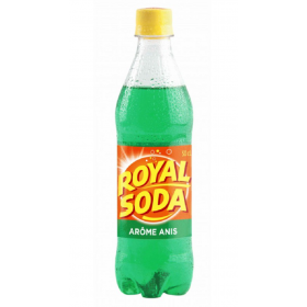 ROYAL SODA Carbonated soft drink ANIS flavour 50cl