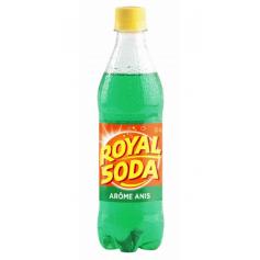 ROYAL SODA Boisson gazeuse saveur ANIS 50cl