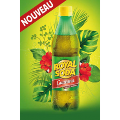 ROYAL SODA Boisson gazeuse saveur GUARANA 50cl