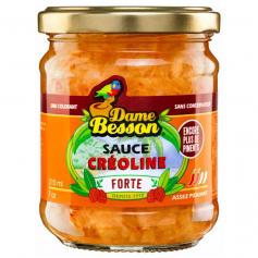 DAME BESSON Sauce créoline FORTE 170g